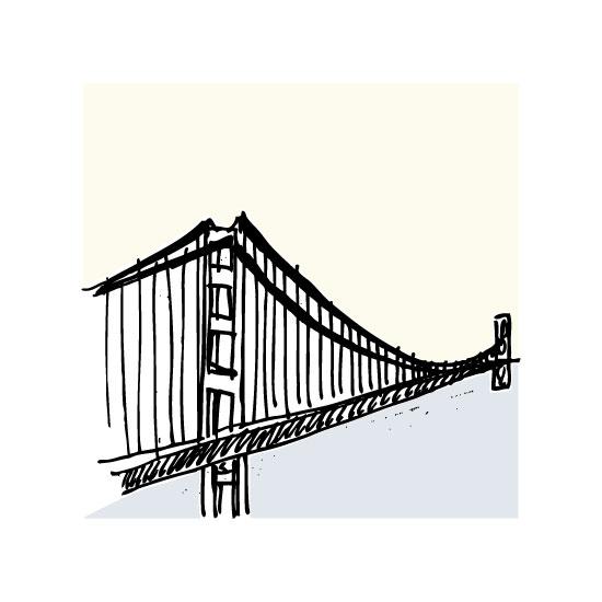 art prints - San Francisco Golden Gate by Phrosne Ras