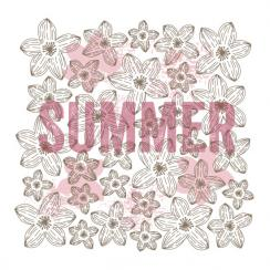 Typographical Seasons: Summer Art Prints