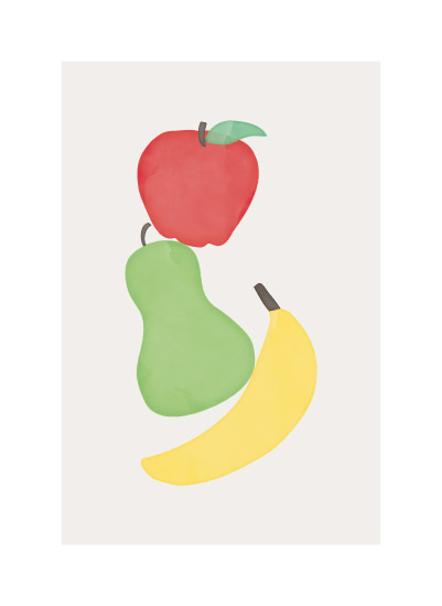art prints - Watercolor Fruit by peony papeterie