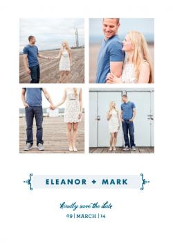 Morning Breeze Save the Date Cards