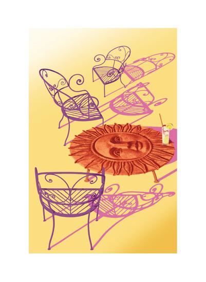 art prints - sunny_scene by John Sposato