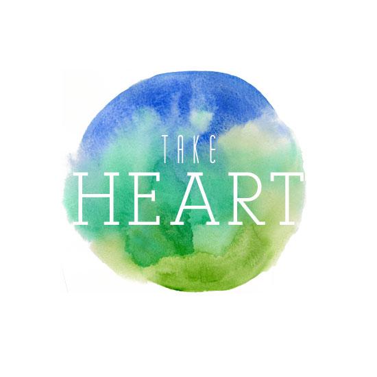 art prints - Take Heart by Ashley Ottinger