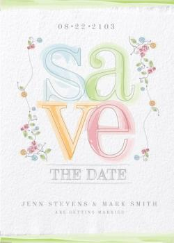 on the softer side Save the Date Cards