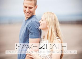 A Breath of Fresh Air Save the Date Cards