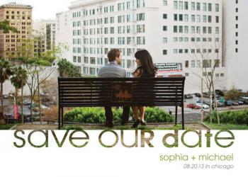 Save The Date Cutout Save the Date Cards