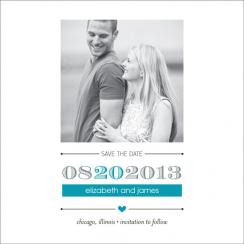 Tiny Heart Save the Date Cards