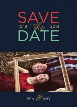 Good As Gold Save the Date Cards