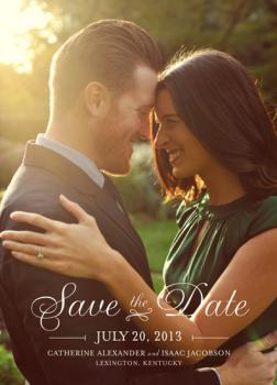 at last Save the Date Cards