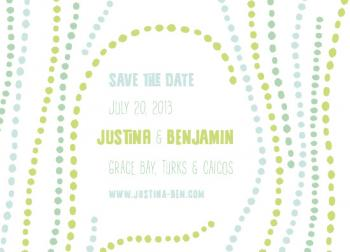 Under the Sea Save the Date Cards