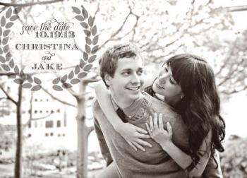 Olive Juice Save the Date Cards