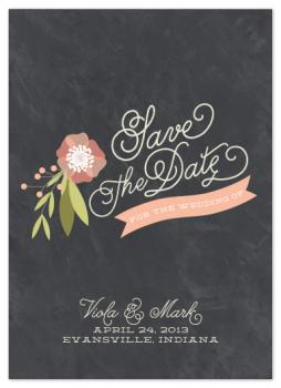 Botany Save the Date Cards