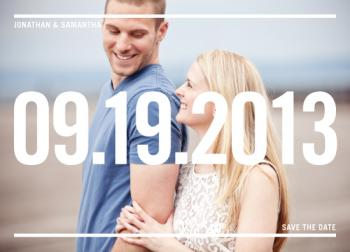 Can't Forget Save the Date Cards