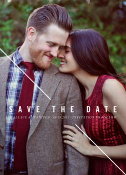 Line of Sight Save the Date Cards