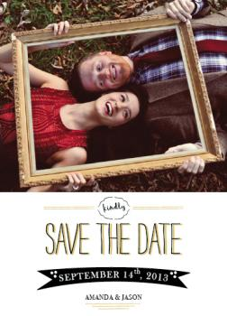 Crazy in love Save the Date Cards