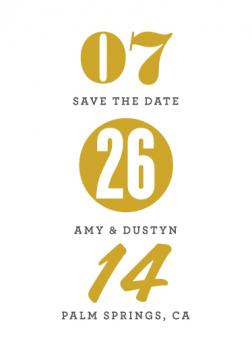 layers Save the Date Cards