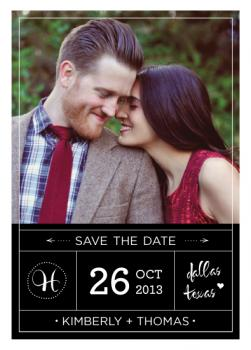 orderly Save the Date Cards