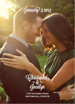 Christopher&Jacalyn Save the Date Cards