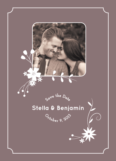 save the date cards - Stella by Madeline
