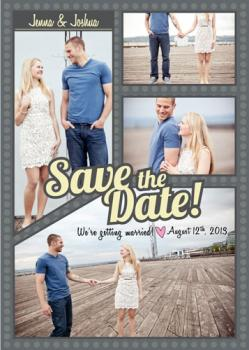 Bubbles of Love Save the Date Cards