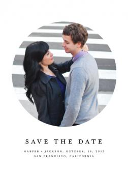 lens Save the Date Cards
