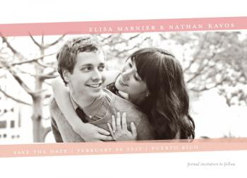 Float Light Save the Date Cards
