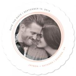Circle of Love Save the Date Cards