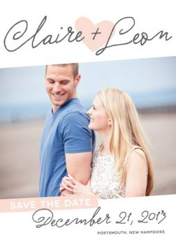 Devoted Script Save the Date Cards