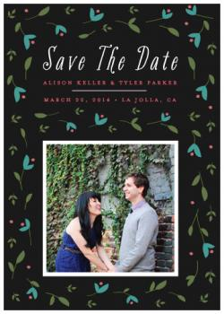 Garden Celebration Save the Date Cards
