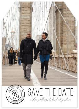 Simple Stamp Save the Date Cards