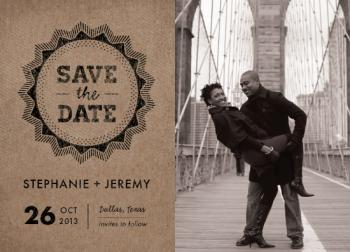 krafty Save the Date Cards