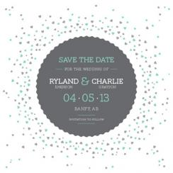 A Sprinkle of Love Save the Date Cards