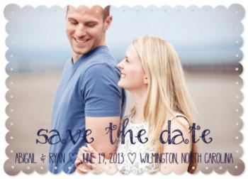 Simple & Sweet Save the Date Cards