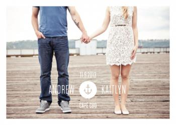 Oceanic Save the Date Cards