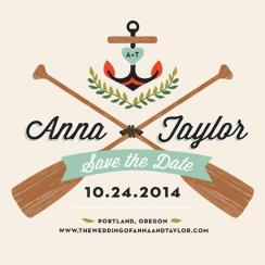 Campy Love Save the Date Save the Date Cards