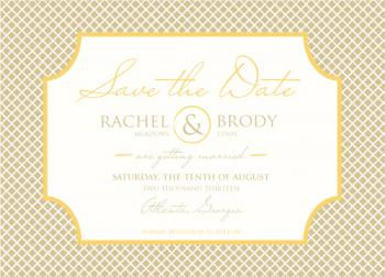 Sugar and Spice Save the Date Cards