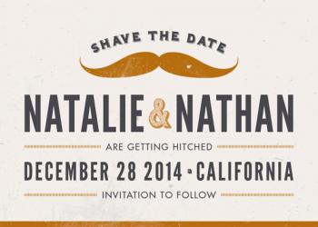 Shave The Date Save the Date Cards