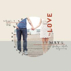 Spin Me Save the Date Cards