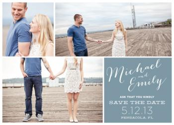 Love is All Around Save the Date Cards