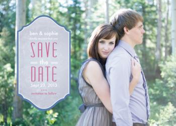 It's a Sign Save the Date Cards