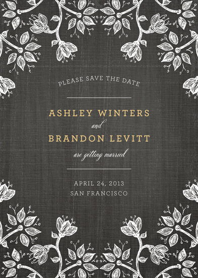 save the date cards - A Walk in the Woods by Wendy Van Ryn