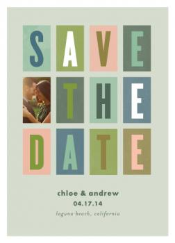 stacked Save the Date Cards