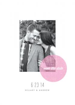 Blush Save the Date Cards
