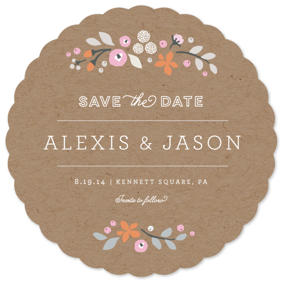 save the date cards - crafted primrose by Jennifer Wick