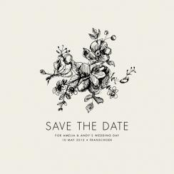 Ellegance Illustrated Save the Date Cards