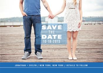 Depths of Love Save the Date Cards
