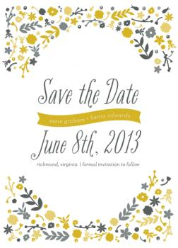 whimsical day Save the Date Cards