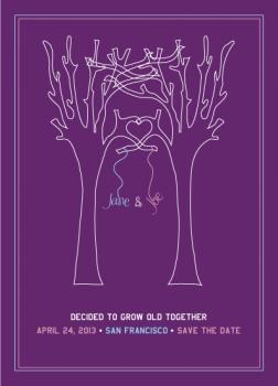 grow old together Save the Date Cards
