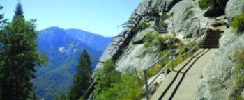 moro rock trail panorama