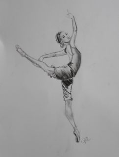art prints - Tiny Dancer by Jill Atogwe