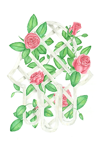 art prints - Lucky Roses by Denise Design